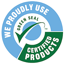 We Proudly Use Greenseal Certified Products